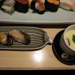 築地 寿司清 - 店長のおすすめセット アナゴ