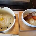 Umenohana - 豆腐しゅうまいもフォンデュ