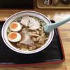 新月  - 料理写真:煮卵ワンタンメン