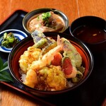 お好きな天ぷらを選べる!!わがまま天丼