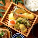 お好きな天ぷらを選べる!!わがまま定食