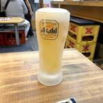 新世界 串カツ 小鉄 - 生ビール
