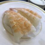 かっぱ寿司 - エビスキーなので、海老を追加
