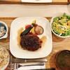 Cafe 蓮 - 料理写真:鹿肉ハンバーグ定食
