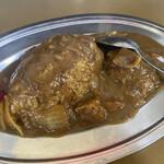 亀の家食堂 - ハンバーグカレー