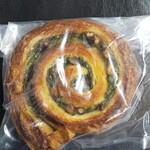 ガーデンハウスクラフツ - エスカルゴ抹茶小豆 390円(税別)