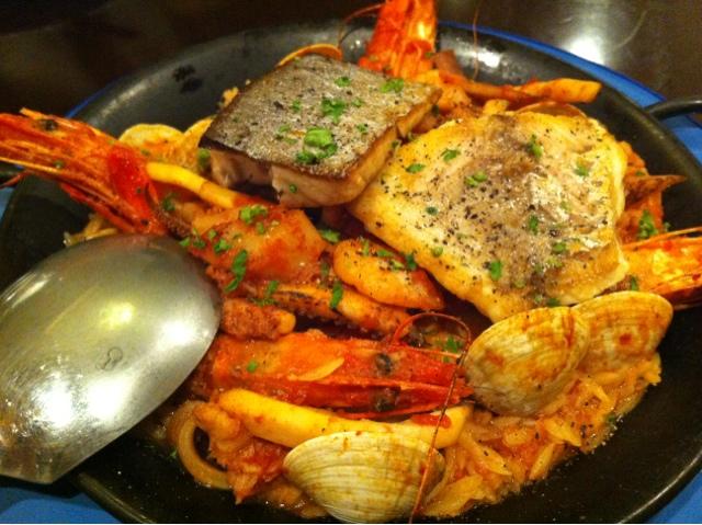 LASISA DINING - 魚貝のパエリア