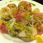 LASISA DINING - ホンビノス貝etc カルパッチョ
