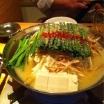 13852709 - もつ鍋 味噌味
