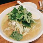 酒巴 菜華 - あさり麺