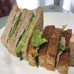 ベーカリー&レストラン 沢村 - サンドイッチに合います