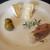 ビストロ ベッセ・ヴォワール - 料理写真:特別ランチ(ノルウェーサーモンのポワレ)
