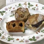 ル・シュクレクール - 3種類のパン買いました