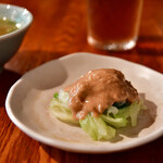 ブリ・マデ - 【ナシ チャンプル@1,000円】サラダ(蒸し野菜)