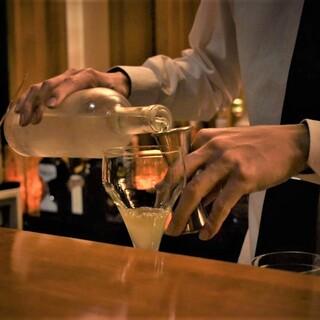 バーが初めての方でもご安心してお好みを注文ください。