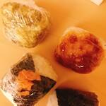 おむすび「大地」 - 料理写真: