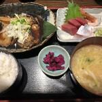 市場食堂 さかなや - 銀ムツ煮付け定食(1500円)