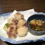市場食堂 さかなや - 水タコ唐揚げ(600円)