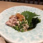 魚錠 - 白子ポン酢