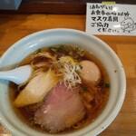 麺堂HOME - あっさり 鶏淡麗ら~めん しょうゆ 味玉付