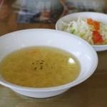 ビッグハート - スープとサラダ