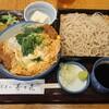 寿々喜 - 料理写真:カツ丼にもりそば