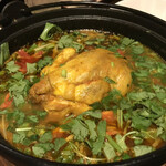 アジアン キッチン カフェ ももふく - 料理写真:咖喱鶏湯