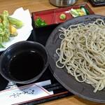 海清庵 - 料理写真:天ざる大盛り1100円