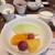 グリーンハウス - 料理写真:季節のフルーツ、ヨーグルト