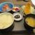 千寿 一歩一歩 - 料理写真:お刺身とアジフライでございます