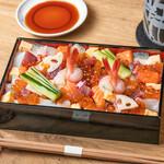 おたる政寿司 - お持ち帰り:政ちらし1,580円(税抜)