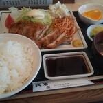 戎家 - チキンカツ定食