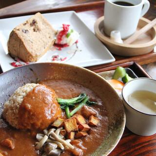 町家喫茶 三宅商店 - 料理写真:昼のコース