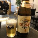 麺屋 うえまつ - 瓶ビール