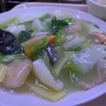 中華大千居 - Iセットの五目野菜うま煮