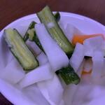 中華大千居 - キュウリ甘酢味漬物