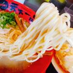 天下一品 - 細麺ストレート