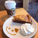 スターバックス・コーヒー - アメリカンアップルパイ、ドリップコーヒー