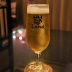 yakinikuresutoranroinzu - 生ビール