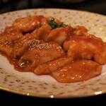焼肉レストラン ロインズ - 上ミノ&シマチョウ
