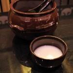 焼肉レストラン ロインズ - マッコリ