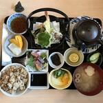仁座食堂 - 料理写真:秋の味覚御膳