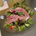 138575542 - 『いろいろ野菜とプロシュートのサラダ』  1045円(税込)