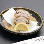 天ぷら つな八 - 季節の天ぷら 椎茸えび詰め