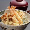 つな八 - 料理写真:季節ランチ  舞茸天丼