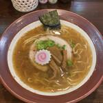 醤武屋 - 料理写真:魚介濃味そば♪