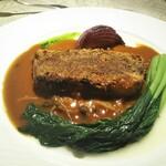 Le jardin des saveurs - メイン 和牛ほほ肉のパン粉焼き