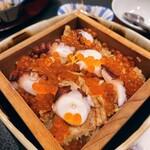 はしもと - 蛸と穴子とイクラの炊き込みご飯