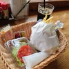 道の駅みさわ くれ馬パークレストラン - 料理写真:エアフォースバーガーセット
