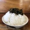 千熊ラーメン - 料理写真:ご飯盛り盛りw